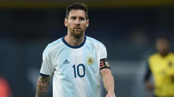 Messi is fit. AFP
