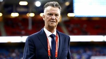 Netherlands are not 'top of the world', warns Van Gaal. AFP