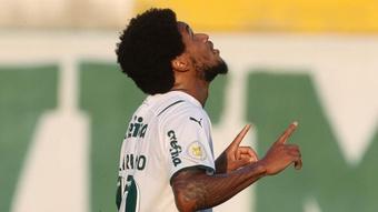 Luiz Adriano desencanta e Palmeiras renova esperanças para a Libertadores. AFP