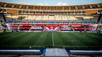Clubes se mobilizam para adiar rodada após STJD manter liminar do Flamengo. AFP