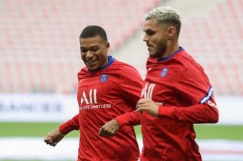 PSG-Strasbourg : Une attaque Mbappé-Icardi. Goal