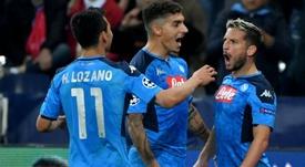 Record del Napoli contro il Salisburgo. Goal