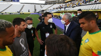 Tite accuses Argentina of disrespecting Brazil in match suspension farce