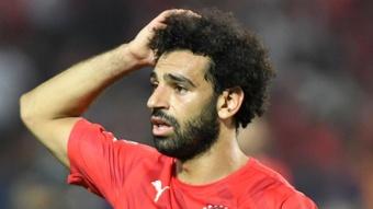 Salah avec l'Égypte, Liverpool met son veto. AFP