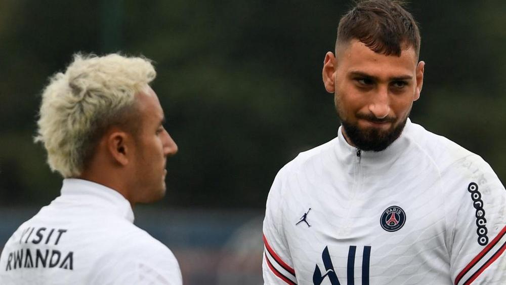 Donnarumma ou Navas, Messi avec Mbappé... quelle équipe contre Bruges ? GOAL