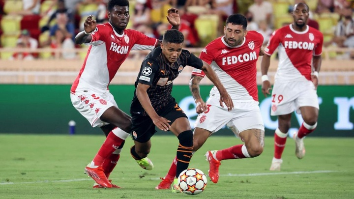 Skakhtar - Monaco 2-2, l'ASM rate le coche. AFP
