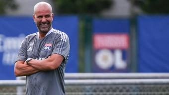 Bosz met en garde ses joueurs après la défaite contre le PSG. AFP