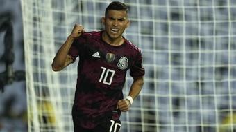 Costa Rica 0-1 Mexico. AFP