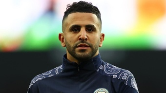 Mahrez fixe son objectif avec l'Algérie. Goal