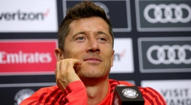 Lewandowski is now one of the leaders in the team. GOAL