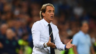 Mancini planning changes after 'tired' Italy held again. AFP