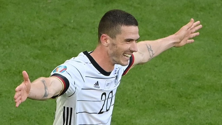 Robin Gosens was singled out for praise by Joachim Low. GOAL