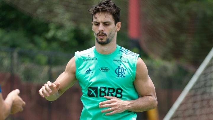 Rodrigo Caio desfalca o Flamengo contra o Juventude, pelo Brasileirão. AFP