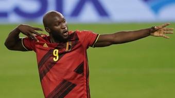 Romelu Lukaku scored as Belgium beat Czech Republic 3-0. GOAL