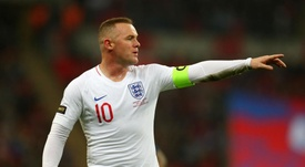 Rooney England US. Goal