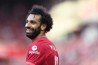 Mohamed Salah franchit la barre des 100 buts en Premier League. GOAL