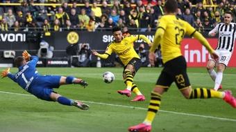 Dortmund won 1-0. GOAL