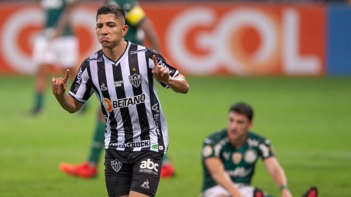 Quantos gols Savarino tem pelo Atlético-MG?
