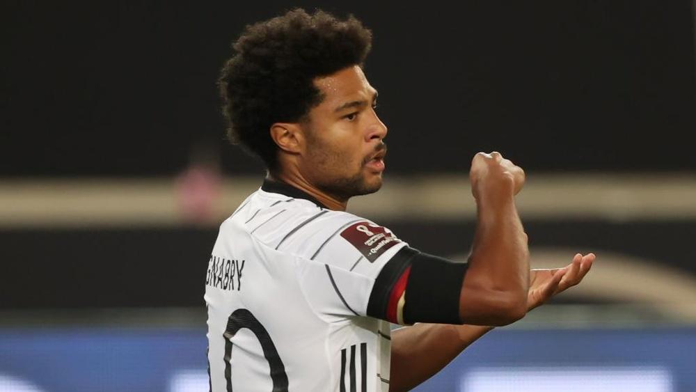 Serge Gnabry was superb as Germany smashed Armenia. GOAL