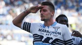 Milinković-Savić pas retenu par la Lazio s'il souhaite partir. AFP