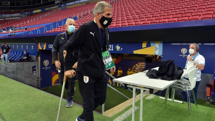 Tabarez has Guillain-Barre syndrome, but continues at the helm of the Uruguayan national team. GOAL