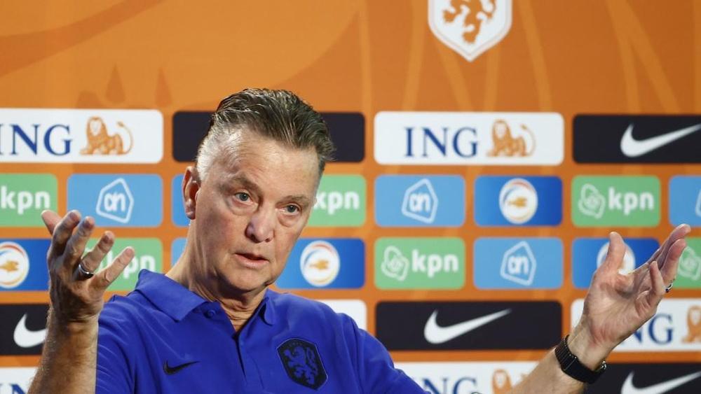Van Gaal: Dutch confident.