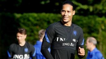 Virgil van Dijk was delighted by Erling Haaland's comments. GOAL