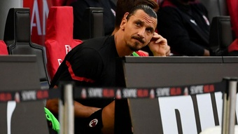 Ibrahimovic annonce son forfait contre la Juventus. GOAL